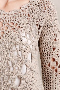 Crochet Blouse Patterns Irish lace, crochet, crochet patterns, clothing and decorations for the house, crocheted. Débardeurs Au Crochet, Cardigan Au Crochet, Beau Crochet, Pull Crochet, Gilet Crochet, Mode Crochet, Crochet Jacket, Crochet Cardigan, Irish Crochet