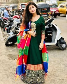 Look Your Best With This Fashion Advice Indian Tv Actress, Indian Bollywood Actress, Beautiful Girl Indian, Beautiful Indian Actress, Indian Dresses, Indian Outfits, Indian Attire, Western Outfits, Indian Fashion Salwar