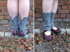 lacy leg warmers