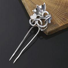 hairpin_spinka_silver_srebrna_flower_1
