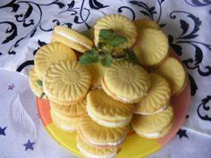 Citromos töltött keksz Food, Eten, Meals, Diet