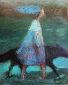 Anne Patay, Go ahead Paintings I Love, Animal Paintings, Figure Painting, Painting & Drawing, Painting Inspiration, Art Inspo, Art Et Illustration, Illustrations, Guache
