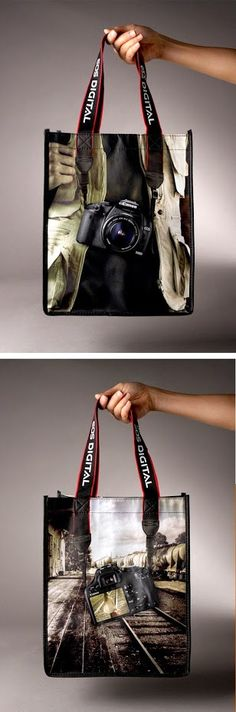 Take your hobby always with you. #photographers #shoppingbag #inspiration