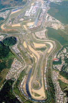 Nurburgring in Germany...can't wait to go there with my babe to test-drive