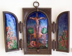 Phoebe Traquair Triptych by Neil_Henderson, via Flickr
