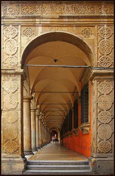 Portici a Bologna, province of a Bologna Emilia Romagna France Travel, Italy Travel, Portal, Bologna Italy, Regions Of Italy, Northern Italy, Europe, Verona, Art And Architecture