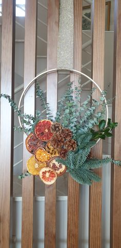 Easy diy christmas ornament by Diy Christmas, Christmas Ornaments, Easy Diy, Wreaths, Home Decor, Decoration Home, Door Wreaths, Room Decor, Christmas Jewelry