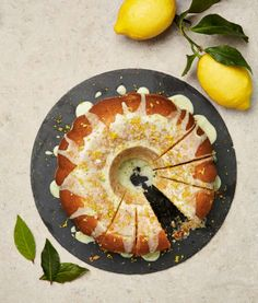 From barley risotto to sorbet: Yotam Ottolenghi's lAmalfi lemon, bay leaf and olive oil cake Ottolenghi Recipes, Yotam Ottolenghi, Otto Lenghi, Barley Risotto, Tray Bake Recipes, Buttery Biscuits, Olive Oil Cake, Baked Squash, Squash Bake