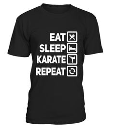 "# Eat Sleep Karate Repeat Motivational Martial Arts T-Shirt .  Special Offer, not available in shops      Comes in a variety of styles and colours      Buy yours now before it is too late!      Secured payment via Visa / Mastercard / Amex / PayPal      How to place an order            Choose the model from the drop-down menu      Click on ""Buy it now""      Choose the size and the quantity      Add your delivery address and bank details      And that's it!      Tags: Do you rehearse karate as…"