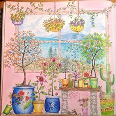 Johanna Basford   Picture by Aleksandra Swk   Colouring Gallery   Inspirational Coloring Pages #inspiração #coloringbooks #livrosdecolorir #jardimsecreto #secretgarden #florestaencantada #enchantedforest #reinoanimal #animalkingdom #adultcoloring #johannabasford #lostocean #oceanoperdido