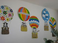 Diy For Kids, Crafts For Kids, Arts And Crafts, Paper Crafts, Class Decoration, School Decorations, Transportation Crafts, Art Projects, Projects To Try