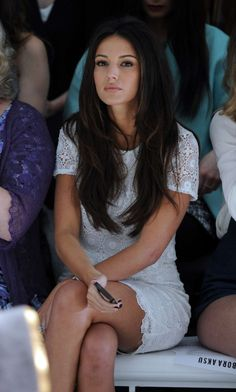 Michelle Keegan - 2015 Bora Aksu fashion show in London