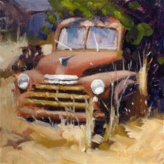 """rust bucket"" - Original Fine Art for Sale - � Dan Graziano"