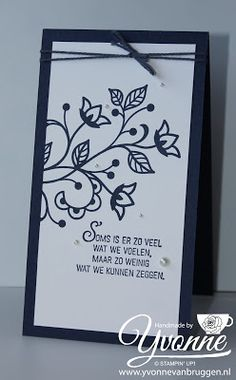 Yvonne is Stampin' & Scrapping: Stampin' Up! goes Dutch Week! 'Recht uit het hart' on my blog www.yvonnevanbruggen.nl  #stampinup