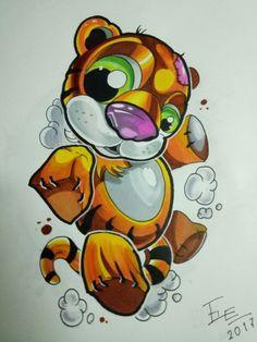 Pencil Art Drawings, Art Drawings Sketches, Tattoo Sketches, Tattoo Drawings, Tattoos, Graffiti Designs, Graffiti Art, Graffiti Characters, Gray