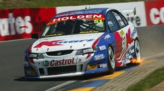 Greg Murphy 2003 Bathurst 1000 Lap of the Gods Holden Commodore V8 Cars, Race Cars, Racing Team, Road Racing, Auto Racing, Australian V8 Supercars, Car Competitions, Holden Commodore, Motor Car