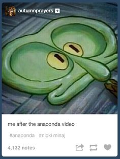 "Best Internet Reactions to Nicki Minaj's ""Anaconda"" video... I'm at a loss of words over the video...."
