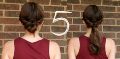 In Motion: 2 Elastics, 7 New Ponytails and Buns #hair