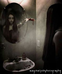 Mirror terror ~ soon I will be writing a blog on 'Mirrors as Portals'