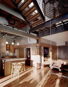Three-Storey Loft Revovation in Chicago