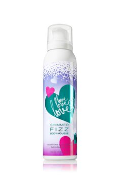 Love Love Love Shimmer Fizz Body Mousse - Signature Collection - Bath & Body Works