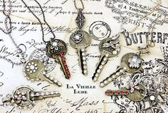 upcycle formula cans | Creative Ideas to Turn Vintage Keys into New Jewelry
