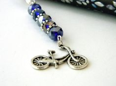 Bicycle Bookmark by hiddentreasure on Etsy, $5.00
