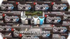 f98276cb90ab ScoreIndustries SI35 GPS Golf Horloge Duits kwaliteit. Geeft de  hindernissen grafisch weer. Golf