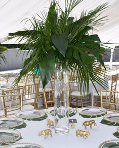 cool are these centerpieces? By How cool are these centerpieces? Jungle Centerpieces, Safari Decorations, Baby Shower Centerpieces, Baby Shower Decorations, Baptism Decorations, Birthday Centerpieces, Jungle Theme Birthday, Jungle Theme Parties, King Birthday