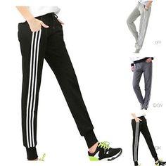 Mode Femmes Survêtement Pantalon Vêtement Sport Gym Jogging Legging Slim  Fitness