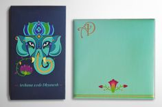 Contemporary Indian Wedding Invite on Behance