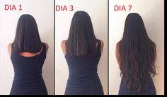 CABELLO LARGO EN 7 DIAS - Remedios caseros! Long Hair Tips, Grow Long Hair, Curly Hair Tips, Very Long Hair, Longer Hair Faster, How To Grow Your Hair Faster, Hair Remedies For Growth, Hair Growth Treatment, Light Pink Hair