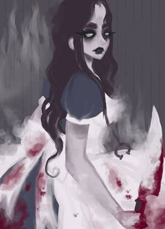 Alice In Wonderland Artwork, Alice In Wonderland Aesthetic, Alice In Wonderland Tea Party, Adventures In Wonderland, Alice Liddell, Alice Madness Returns, Creepy Art, Scary, Shadow Of The Colossus