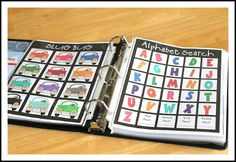 Road Trip Games Binder | Make Create Do