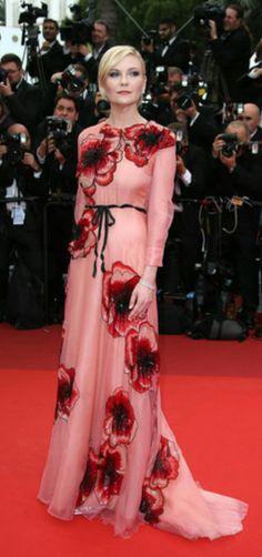 Kirsten Dunts, de Gucci #Cannes'16