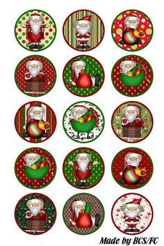 Resultado de imagen para free christmas bottle cap images to print Christmas Clipart, Christmas Images, Christmas Tag, Christmas Printables, All Things Christmas, Vintage Christmas, Christmas Bulbs, Xmas, Bottle Cap Jewelry