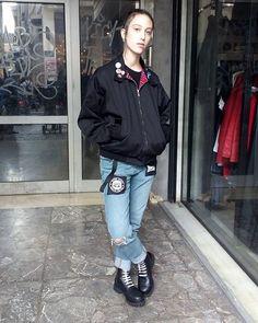 #harrigton #skinhead #skinbyrd #boots #braces