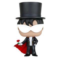 Statuetta decorativa Tuxedo Mask del brand Funko collezione Pop!.