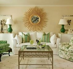 White and Gold Living Rooms . White and Gold Living Rooms . 23 Best and Wonderful Black White and Gold Living Room Living Room Green, Green Rooms, Living Room Paint, Living Room Decor, Dining Room, Green Living Room Furniture, Brown Furniture, Decor Room, Office Furniture