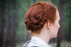 Sansa's Winterfell Wedding Updo
