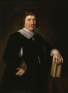 13 января. Hendrick Bloemaert (1601/1602–1672) Portrait of a Husband - Walters
