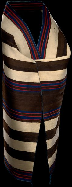 Diné: Navajo | chief blanket | wool | 179 cm x 145 cm | New Mexico, U.S.A. | first phase: c. 1840–'50