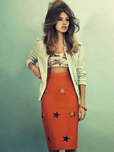 Look At Me, I'm Sandra Dee | Elle Sweden March 2012 | Mona Johannesson by Peter Gehrke