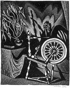 Spinning Wheel, 1925