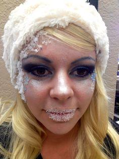 Kelly's Avant Garde Makeup
