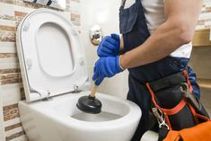 The plumbers we cooperate can repair your clogged toilet with a blocked toilet repair service put you out of your misery. The clogged toilet service is available around the clock. Plumbers Near Me, Local Plumbers, Clogged Toilet, Flush Toilet, Toilet Bowl, Toilet Installation, Toilet Repair, Plumbing Emergency, Plumbing Tools