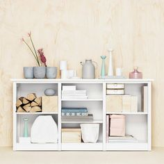 The perfect little #Lundia unit! Customise the number of shelves and shelf heights to create the storage solution that fits your needs. Decor, Shelves, Interior, Home, Wall Shelves, Shelving Unit, Home Deco, Cube Storage, Modular Furniture