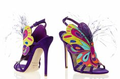 brian atwood ss 2014 purple shoes
