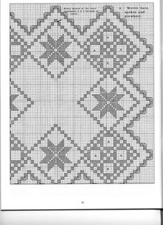 ru / Фото - The Big Book of Small Doilies - Orlanda Hardanger Embroidery, Hand Embroidery Stitches, Paper Embroidery, Filet Crochet, Doilies Crochet, Crochet Doily Patterns, Embroidery Designs, Swedish Weaving Patterns, Bargello