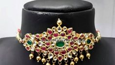 Latest Collection of best Indian Jewellery Designs. Baby Jewelry, Jewelry For Her, Wedding Jewelry, Indian Jewellery Design, Jewellery Designs, Jewelry Design Earrings, India Jewelry, Metal Jewelry, Necklace Set